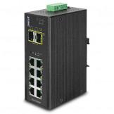 IGS-10020MT Planet  IP30 Промышленный управляемый L2+/L4 коммутатор 8-Port 10/100/1000T + 2-Port 100/1000X SFP