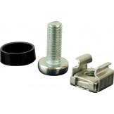 TLK-FPFP-50 Крепежный комплект TLK (винт, шайба, гайка) для крепления оборудования, уп-ка 50шт