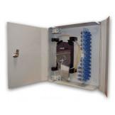 Кросс настенный W32 (48) увеличенной емкости с дверками на 32 и 48 портов